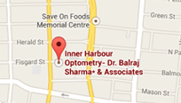contact Inner Harbour Optometry