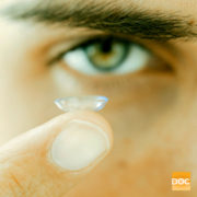 using the right contact lens solution
