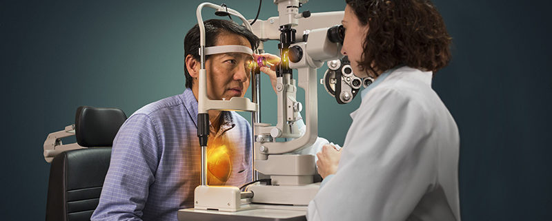Eye exam can discover high cholesterol