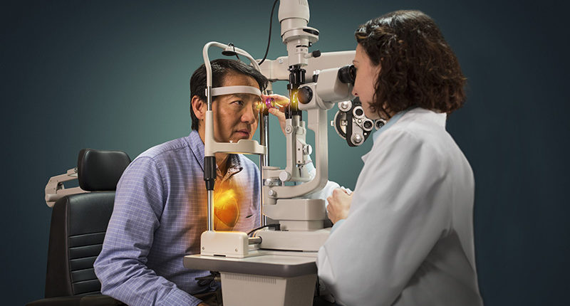An Eye Exam is about maintaining Eye Health